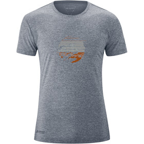 Maier Sports Myrdal Sun SS Shirt Men ombre blue melange